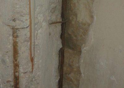 Αποκατάσταση κολώνας διατηρητέου