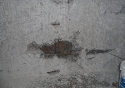 Αποκατάσταση τοιχίου υπογείου